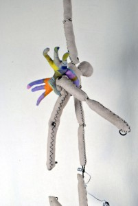 Each climber has an appendage to help motivation ideas