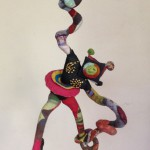 Swirling-Hands Monkey 1