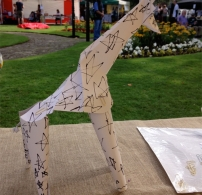 Pop-up Giraffe